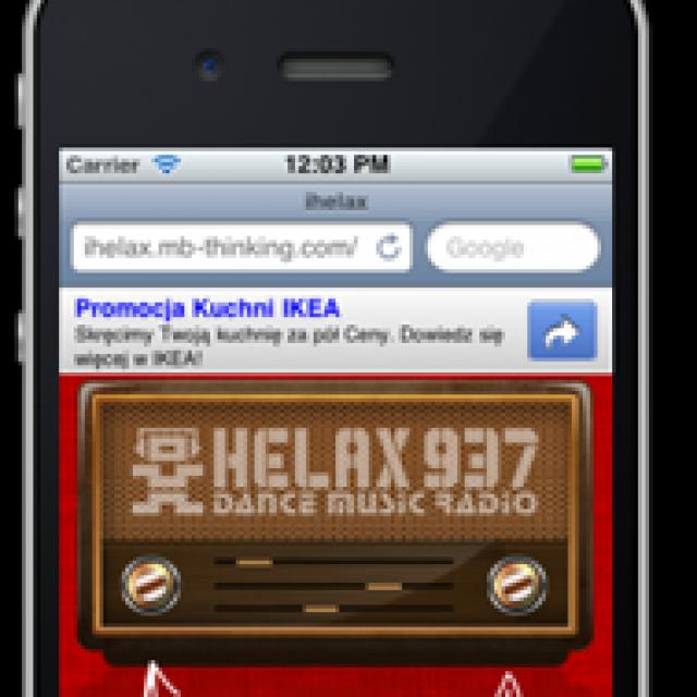 Słuchaj radia Helax 937 na iPhone