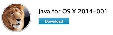 Java 6 dla os x
